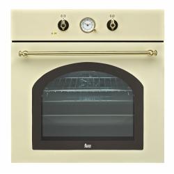 Фурна за вграждане TEKA HR 550 с 5 режима на готвене, беж/месинг, кънтри стил