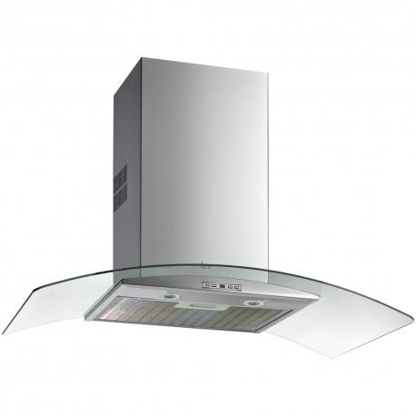 Абсорбатор TEKA NC 985, 90 см., стенен, с кристално стъкло
