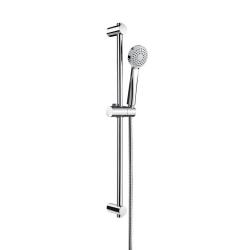 Комплект ръчен душ ROCA Stella 80 mm, с тръбно окачване 700 mm, 1 функция