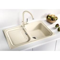 Мивка за кухня BLANCO CLASSIC 45 S SILGRANIT ™ - цвят Жасмин, от синтетичен гранит