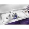 Мивка за кухня BLANCO NAYA 8S SILGRANIT ™ - Бял, от синтетичен гранит