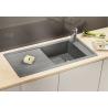 Мивка за кухня BLANCO  MEVIT XL 6S SILGRANIT ™ - Алу Металик, от синтетичен гранит
