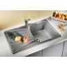 Мивка за кухня BLANCO NOVA 45S SILGRANIT ™ - Алу Металик, от синтетичен гранит