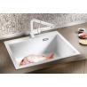 Мивка за кухня BLANCO PLEON 8 SILGRANIT ™- цвят Бял, от синтетичен гранит