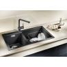Мивка за кухня BLANCO PLEON 9 SILGRANIT ™- цвят Антрацит, от синтетичен гранит