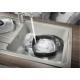 Мивка за кухня BLANCO SONA XL 6S SILGRANIT ™ - Перлерно Сиво, от синтетичен гранит