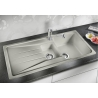 Мивка за кухня BLANCO SONA 6S SILGRANIT ™ - Перлено сиво, от синтетичен гранит
