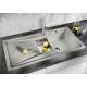 Мивка за кухня BLANCO SONA 6S SILGRANIT ™ - Перлено сиво, от синтетичен гранит, с аксесоари