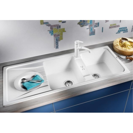 Мивка за кухня BLANCO  SONA 8S  SILGRANIT ™ - различни цветове, от синтетичен гранит