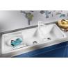 Мивка за кухня BLANCO SONA 8S SILGRANIT ™ - Бял, от синтетичен гранит