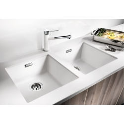 Мивка за кухня BLANCO  SUBLINE 400 U SILGRANIT ™ - за под плот, различни цветове, от синтетичен гранит