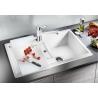 Мивка за кухня BLANCO METRA 45S SILGRANIT ™ - Бял, от синтетичен гранит