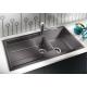 Мивка за кухня BLANCO METRA 6 S SILGRANIT ™ - Антрацит, от синтетичен гранит