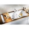 Мивка за кухня BLANCO METRA 8 S SILGRANIT ™ - Бял, от синтетичен гранит