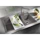 Мивка за кухня BLANCO METRA 9 SILGRANIT ™ - различни цветове, от синтетичен гранит