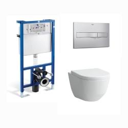 Комплект GROHE Euphoria Cube душ глава, Еurocube смесител за душ и душ Еuphoria Cube