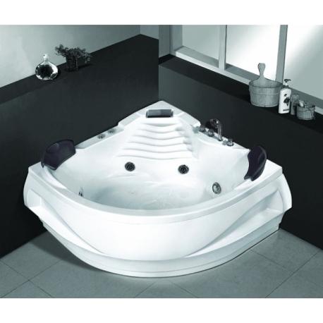 Хидромасажна вана METRON MY-1550,140x140 см., ъглова, за двама