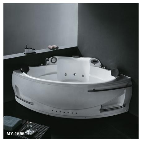 Хидромасажна вана METRON MY-1555,160x160 см., ъглова, за двама