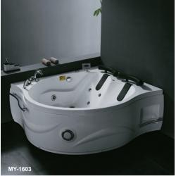 Хидромасажна вана METRON MY-1603,169x140 см., ъглова, асиметрична, за двама
