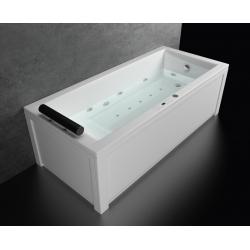 Хидромасажна вана БЕРЛИН ЛАЙН ПРЕМИУМ ФЛАТ, правоъгълна, различни размери, с нагревател