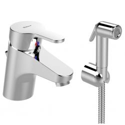 Смесител за мивка VIDIMA Seva FLOW, с хигиеничен душ
