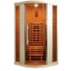 Инфрачервена сауна RELAX 1 D60700 с инфрачервени нагреватели, за 1 човек