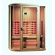Инфрачервена сауна NEW YORK D70720 с инфрачервени нагреватели, за 3 човека
