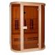 Инфрачервена сауна PHONIX D50520 с инфрачервени нагреватели, за 3 човека