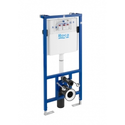 Структура за вграждане ROCA DUPLO WC  с казанче 3/6 л. за стенна тоалетна чиния