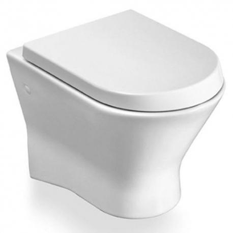 Стенна тоалетна чиния ROCA Nexo с биде, скрито присъединяване, със седалка по избор