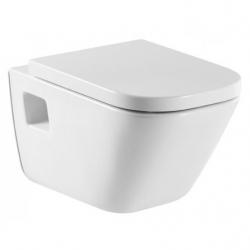 Стенна тоалетна чиния ROCA The Gap, със седалка по избор