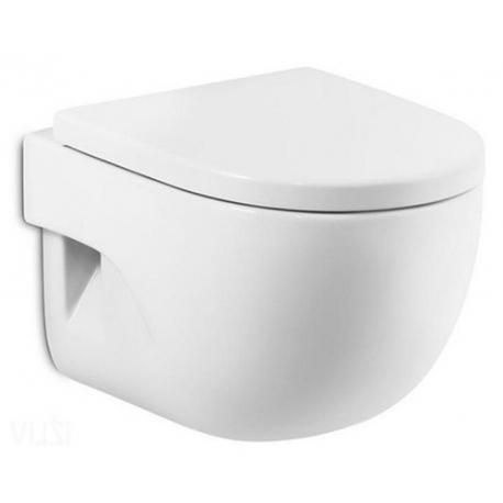 Стенна тоалетна чиния ROCA Meridian, със седалка по избор