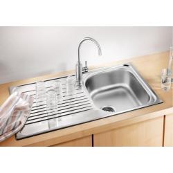 Кухненска мивка BLANCO TIPO 45S Compact от неръждаема стомана