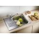 Кухненска мивка BLANCO TIPO 45S Mini от неръждаема стомана, мат