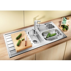 Кухненска мивка BLANCO LIVIT 6S от неръждаема стомана