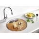 Кухненска мивка BLANCO RONDOSOL IF от неръждаема стомана, за монтаж на равно с плота