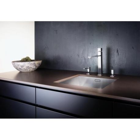 Кухненска мивка BLANCO ZEROX 500 U от неръждаема стомана, за монтаж под плот