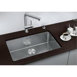 Кухненска мивка BLANCO ANDANO 700 U от неръждаема стомана, за монтаж под плот, с автоматичен сифон