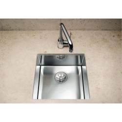Кухненска мивка BLANCO CLARON 400 U от неръждаема стомана, за монтаж под плот, полирана