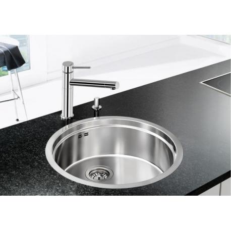 Кухненска мивка BLANCO RONIS IF от неръждаема стомана, за монтаж на равно с плот