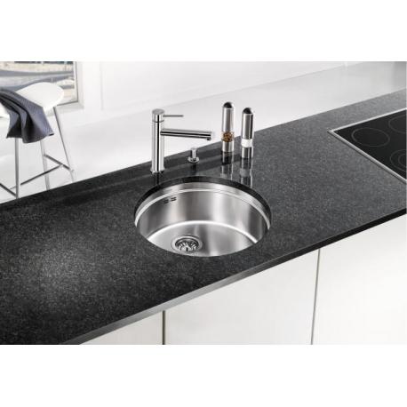 Кухненска мивка BLANCO RONIS U от неръждаема стомана, за монтаж под плот