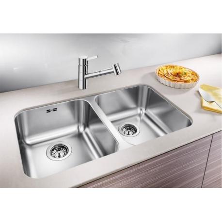 Кухненска мивка BLANCO SUPRA 340/340 - U от неръждаема стомана, за монтаж под плот