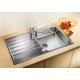 Кухненска мивка BLANCO LIVIT XL 6S от неръждаема стомана,  с автоматичен сифон