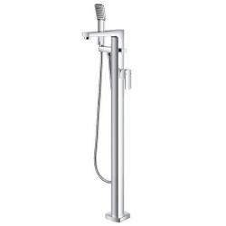 Смесител за вана ГАЛА, с подово захранване, с ръчен душ