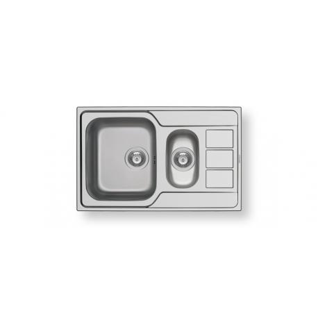 Кухненска мивка PYRAMIS ATHENA (79X50) 1 1/2B 1D от неръждаема стомана