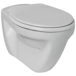 Стенна тоалетна чиния IDEAL STANDARD EUROVIT,хоризонтално оттичане, с медицинско предназначение, със седалка по избор