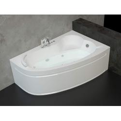 Хидромасажна вана ОНИКС 150х100 см. ПРЕМИУМ ФЛАТ, ъглова, с нагревател