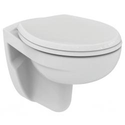Стенна тоалетна чиния IDEAL STANDARD EUROVIT,Технология Rimless / без ринг/, със седалка по избор