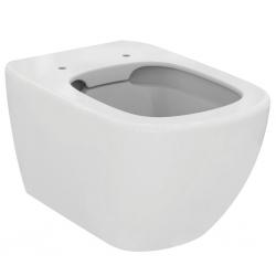Стенна тоалетна чиния IDEAL STANDARD TESI без ринг Технология Rimless, с напълно скрито присъединяване, със седалка по избор