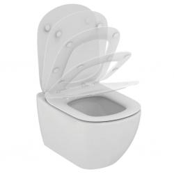 Стенна тоалетна чиния IDEAL STANDARD TESI, AQUABLADE®, със седалка по избор